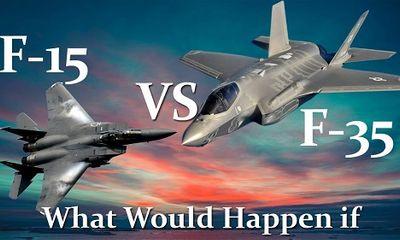 So sánh sức mạnh tiêm kích 'đại bàng' F-15 với 'tia chớp' F-35