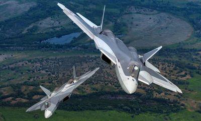 """""""Bóng ma bầu trời"""" Su-57 của Nga: Siêu tiêm kích không có đối thủ?"""