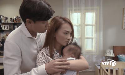 Phim Về nhà đi con tập 81: Vũ ân hận ôm chặt mẹ con Thư xin cơ hội làm lại
