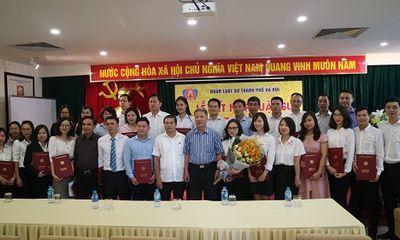 Đoàn Luật sư Hà Nội kết nạp 37 luật sư thành viên mới gia nhập