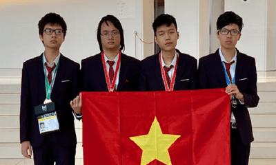 Việt Nam giành hai huy chương vàng Olympic Tin học quốc tế