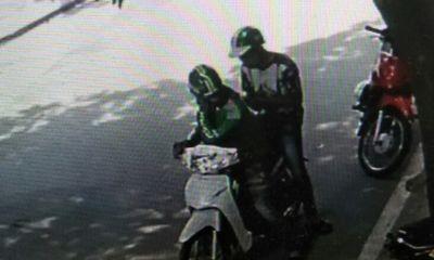 Cảnh giác với thủ đoạn mặc đồng phục giả làm GrabBike để trộm cắp
