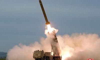 Nhật Bản: Triều Tiên phóng tên lửa có quỹ đạo bất thường