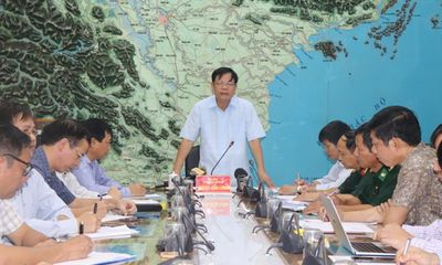 Ứng phó bão số 4: Khẩn trương tìm cách liên lạc với 7 tàu cá của tỉnh Quảng Trị