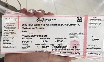 Nóng bỏng tay vé xem trận Việt Nam-Thái Lan tại chợ đen, giá tăng chóng mặt gấp 8 lần