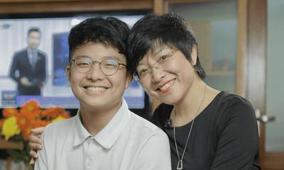 MC Thảo Vân gây xúc động khi viết thư tay gửi con trai nhân ngày khai giảng