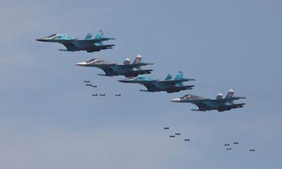 Hai chiến đấu cơ Su-34 của Nga va chạm trên không