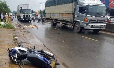 Đồng Nai: Gần 6 giờ truy đuổi container tông chết thầy giáo rồi bỏ chạy