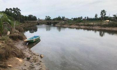 Hà Tĩnh: Bất ngờ xuất hiện cá sấu dưới sông, người dân không dám đánh bắt cá