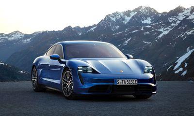 Cận cảnh Porsche Taycan Turbo 2020 đầy uy lực giá hơn 3,5 tỷ đồng