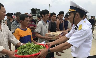 Đảo Sinh Tồn hỗ trợ 46 ngư dân gặp nạn trên biển