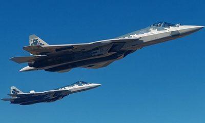 Tiêm kích 'bóng ma bầu trời' Su-57 liệu có chiến thắng nếu đối đầu với chiến đấu cơ của Mỹ?