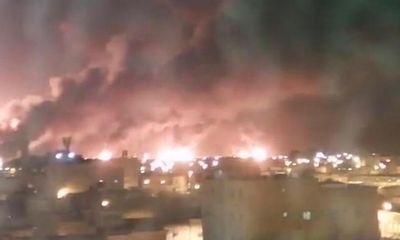 Tin tức quân sự mới nóng nhất hôm nay 14/9: Nhà máy, mỏ dầu cháy dữ dội vì bị UAV tấn công