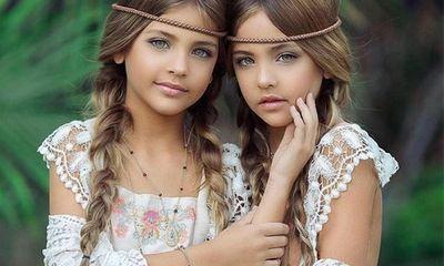 Mới 9 tuổi, cặp song sinh đẹp nhất thế giới đã kiếm được hàng triệu đô la mỗi năm