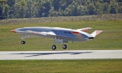 Mỹ lần đầu công bố cảnh thử nghiệm UAV đặc biệt