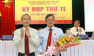 Đồng Nai: Trao quyết định chuẩn y ông Cao Tiến Dũng giữ chức Phó Bí thư Tỉnh ủy