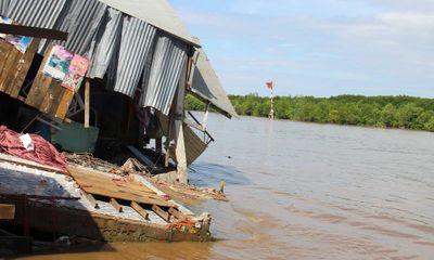 Cà Mau xin hỗ trợ gần 950 tỷ đồng để xử lý khẩn cấp 8 điểm sạt lở nguy hiểm