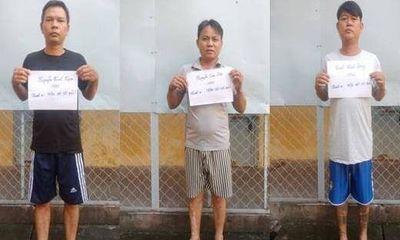 Dàn cảnh đụng xe trộm cắp tài sản ở TP.HCM, băng nhóm 3 người bị tóm gọn