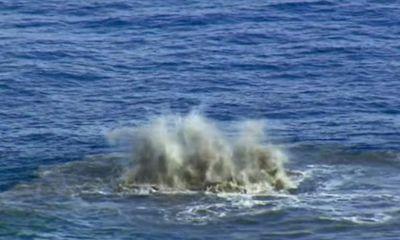 Video cận cảnh quá trình hình thành một hòn đảo giữa Thái Bình Dương