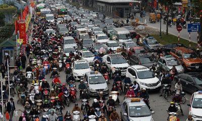 Người Việt có tỷ lệ sở hữu ô tô gần như ít nhất Đông Nam Á