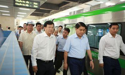 Dự án đường sắt Cát Linh - Hà Đông chậm tiến độ: Phó Thủ tướng trao đổi