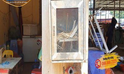 Nguy cơ cháy nổ ở chợ đầu mối lớn nhất phía tây Hà Nội