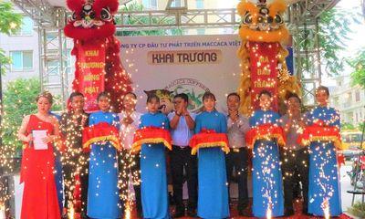 Maccaca Coffee tưng bừng khai trương cơ sở mới tại Hà Nội