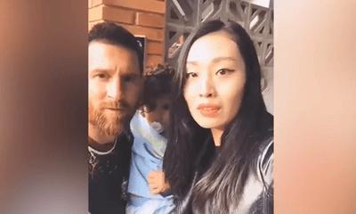 Video: Fan nữ bị chỉ trích thậm tệ vì cưỡng hôn Messi