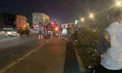 Bắc Giang: Ô tô tông nhóm nữ công nhân trên cao tốc, 3 người thương vong