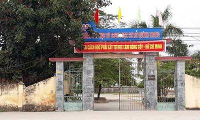Xác minh thông tin thấy giáo ở Thái Bình bị tố