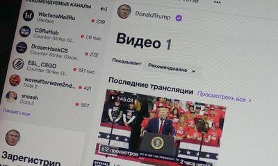 Tổng thống Trump trở thành streamer thực thụ