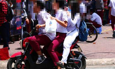 Học sinh vi phạm luật giao thông: Thiếu vắng giáo dục từ gia đình, nhà trường thêm gánh nặng