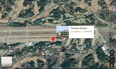 40% căn cứ quân sự nhạy cảm của Hàn Quốc bị lộ do Google Maps