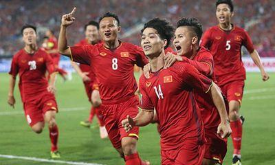 ĐT Việt Nam tăng 2 bậc trên bảng xếp hạng FIFA