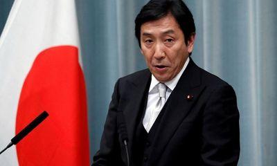 Bộ trưởng Thương mại Nhật Bản bất ngờ từ chức sau hàng loạt cáo buộc vi phạm luật bầu cử