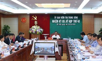 Cảnh cáo Trung tướng Trình Văn Thống vi phạm bảo vệ bí mật nhà nước
