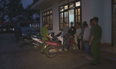 11 thiếu niên nghiện ma túy gây ra 20 vụ trộm sa lưới