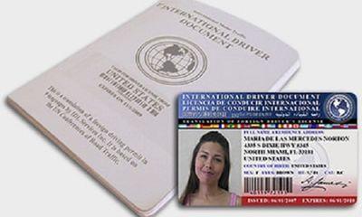 Giấy phép lái xe quốc tế có giá trị sử dụng tại Việt Nam không?