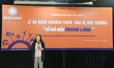 Trường đại học đầu tiên ở Hà Nội ngừng sử dụng đồ nhựa 1 lần