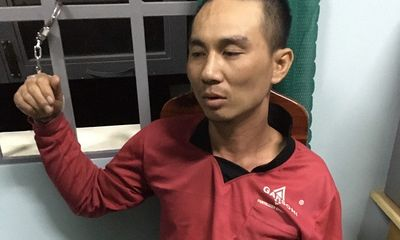 Mai phục, vây bắt phạm nhân mang án 20 năm tù trốn khỏi trại giam