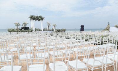 Cận cảnh tiệc cưới đẹp như mơ trên bãi biển của Đông Nhi và Ông Cao Thắng