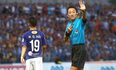 Trọng tài bắt chính trận Việt Nam - UAE: