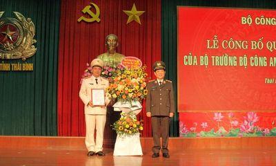 Giám đốc Công an tỉnh Thái Bình vừa được bổ nhiệm là ai?