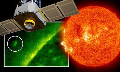 NASA chụp được ảnh tàu vũ trụ của người ngoài hành tinh lớn hơn Trái đất ở gần Mặt trời?
