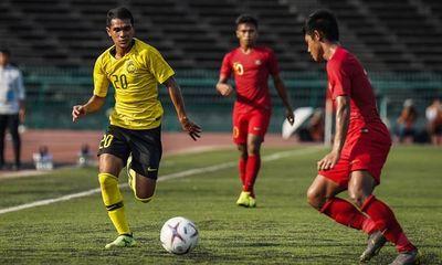 U22 Malaysia bất ngờ bị U22 Myanmar cầm hòa ở trận ra quân tại SEA Games 30