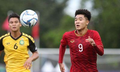 Thắng đậm U22 Brunei 6-0, U22 Việt Nam chiếm ngôi đầu bảng B