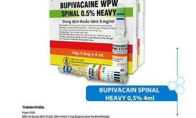 Cục Quản lý Dược chỉ đạo đảm bảo cung ứng thuốc tiêm chứa Bupivacaine