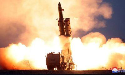 Triều Tiên xác nhận thử tên lửa đa nòng siêu lớn dưới sự chỉ đạo của ông Kim Jong-un