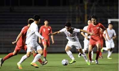 HLV U22 Singapore chia sẻ điều bất ngờ sau trận thua sát nút U22 Việt Nam