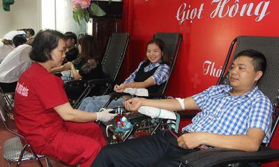 Gần 500 đoàn viên tham gia hiến máu tình nguyện tại Thái Nguyên